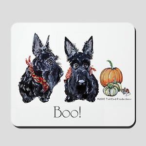Halloween Scotties Mousepad