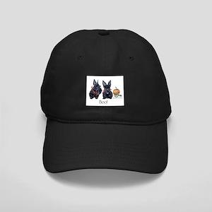 Halloween Scotties Black Cap