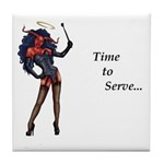 time to serve, Tile Coaster