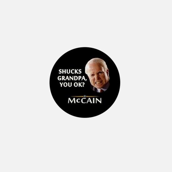 Grandpa, You Okay? McCain Mini Button