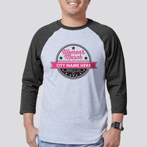 Womens March Personalized Mens Baseball Tee