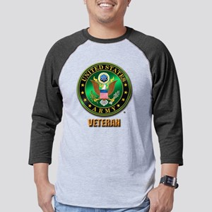 U.S. ARMY VETERAN Mens Baseball Tee