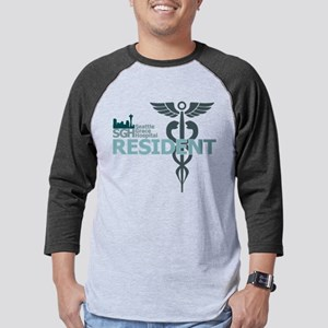 Seattle Grace Hospital Resident Mens Baseball Tee