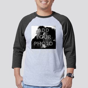 Hes My Boo Personalized Mens Baseball Tee