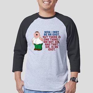 Family Guy Idiot Dark Mens Baseball Tee