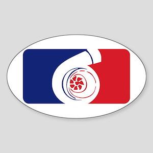 Major League Boost Sticker (Oval)