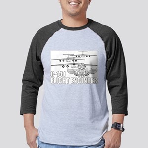 C-141 Flight Engineer Mens Baseball Tee