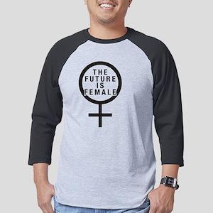The Future is Female Mens Baseball Tee