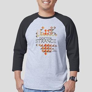 Doctor Strange Logo Triangles Mens Baseball Tee