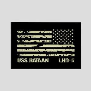 USS Bataan Rectangle Magnet