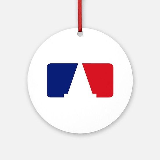 Major League Autocross Ornament (Round)