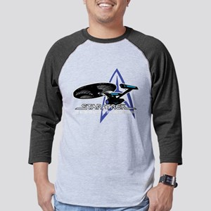 Star-Trek-To-Boldy-Go-blk Mens Baseball Tee