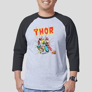 Thor-Slam dark Mens Baseball Tee