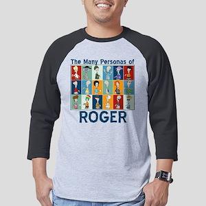 American Dad Roger Personas Dark Mens Baseball Tee