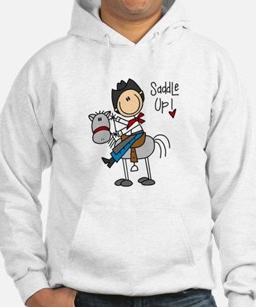 Cowboy Saddle Up Hoodie