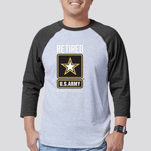 US Army Watch Never Ends Mens Baseball Tee