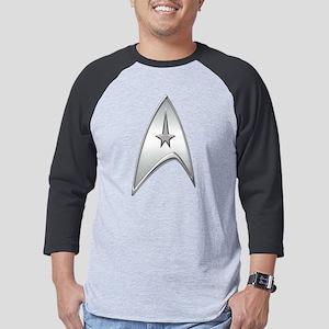 StarTrek Command Silver Signia C Mens Baseball Tee
