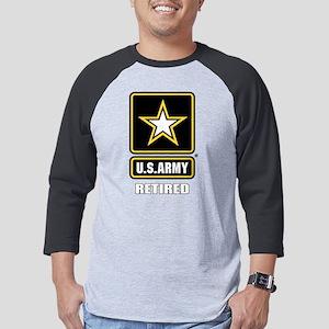 Army Ret. Mens Baseball Tee