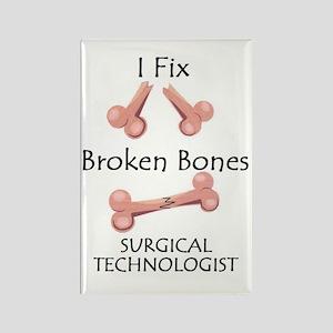 Broken Bones ST Rectangle Magnet