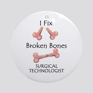 Broken Bones ST Ornament (Round)