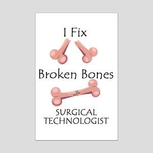 Broken Bones ST Mini Poster Print
