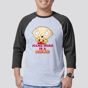 Family Guy Stewie Personalized D Mens Baseball Tee