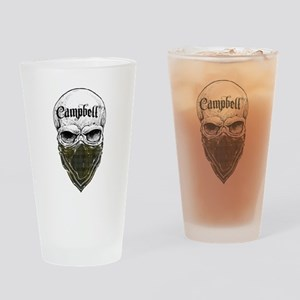Campbell Tartan Bandit Drinking Glass