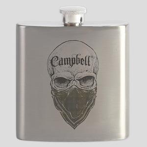 Campbell Tartan Bandit Flask