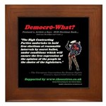 pro 1, Article 3 Democo-What? Framed Title