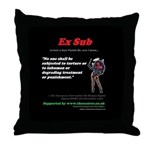 Article 3 Ex Sub Throw Pillow