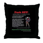 Article 8 Fuck Off Throw Pillow