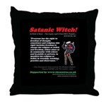 Article 9 Satanic Witch! Throw Pillow
