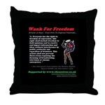 Article 10 Wank For Freedom Throw Pillow