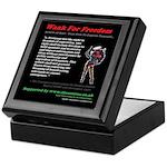 Article 10 Wank For Freedom Keepsake Box