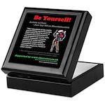 Article 14 Be Yourself Keepsake Box
