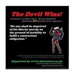 Pro 4, Article 1 - The Devil Wins - Tile Coaster