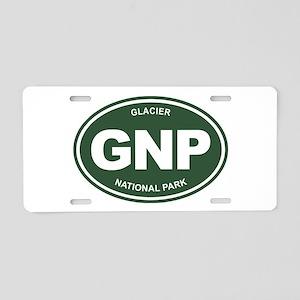 GNP (Glacier National Park) Aluminum License Plate