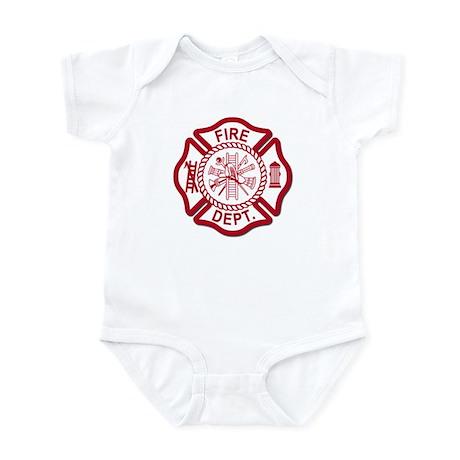 Firefighter Baby Infant Bodysuit