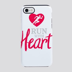 Running Design Run With Hear iPhone 8/7 Tough Case