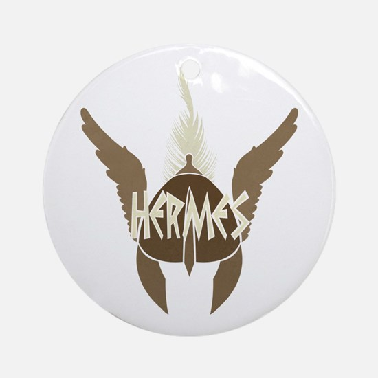 Hermes Round Ornament