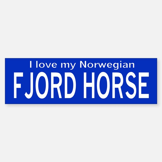 I love my Fjord in Blue