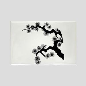 Bonsai Rectangle Magnet