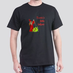 Santa's Little helper Dark T-Shirt
