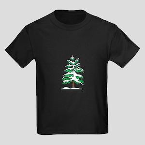 Yule Tree Kids Dark T-Shirt