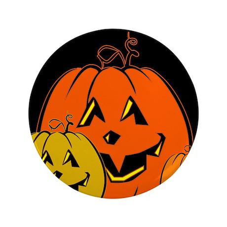 "The Great Pumpkins 3.5"" Button"