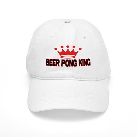 Beer Pong King Cap - Unique Baseball Hat