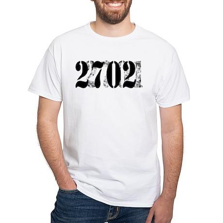 2701/2702 White T-Shirt