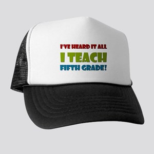 Fifth Grade Teacher Trucker Hat