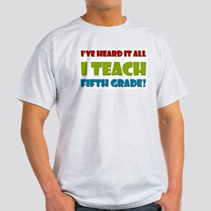 Fifth Grade Teacher Light T-Shirt