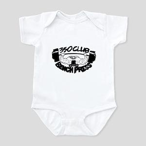 350 Club Bench Press Infant Bodysuit